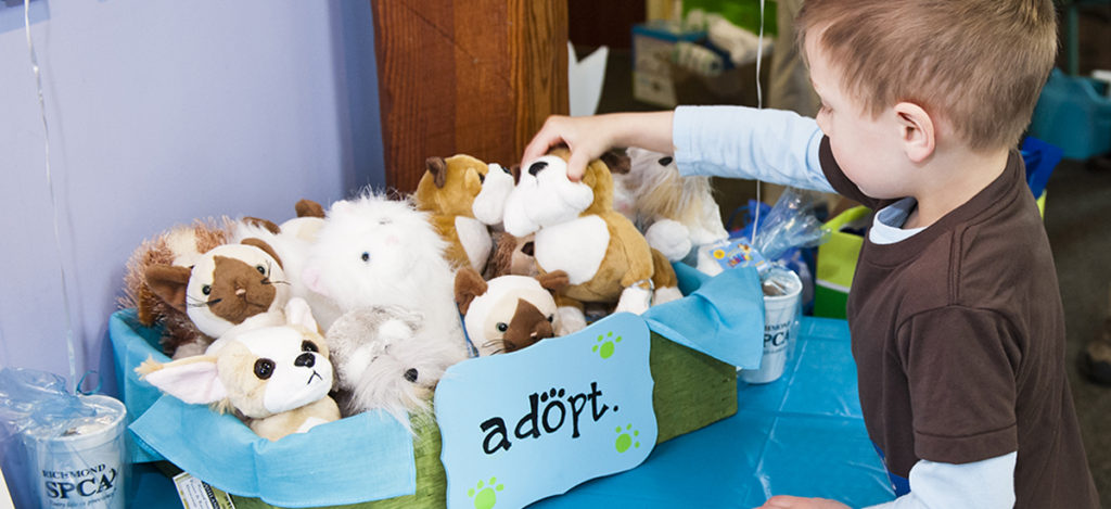 Pet Adoption Themed Birthday Party